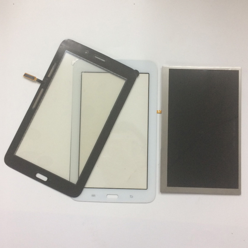 2 Color For Samsung Galaxy Tab 3 Lite 7.0 T111 SM-T111 Touch Screen Digitizer Sensor Glass + LCD Display Screen Panel Monitor