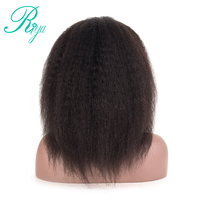Riya Hair Full Lace Human Hair Wigs With Baby Hair Kinky Straight Brazilian Remy Hair Full Lace Wigs For Women