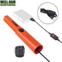 USB waterproof pinpointer rechargeable handheld metal detector underwater metal detector underground gold detector