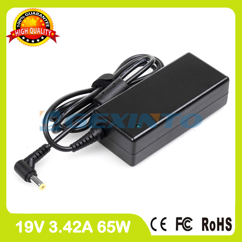 19V 3.42A 65W laptop charger ac adapter HAP.0060.001 HP-A0652R3B HP-A0653R3B for Acer Iconia 6120 6487 6673 688619V 3.42A 65W laptop charger ac adapter HAP.0060.001 HP-A0652R3B HP-A0653R3B for Acer Iconia 6120 6487 6673 6886