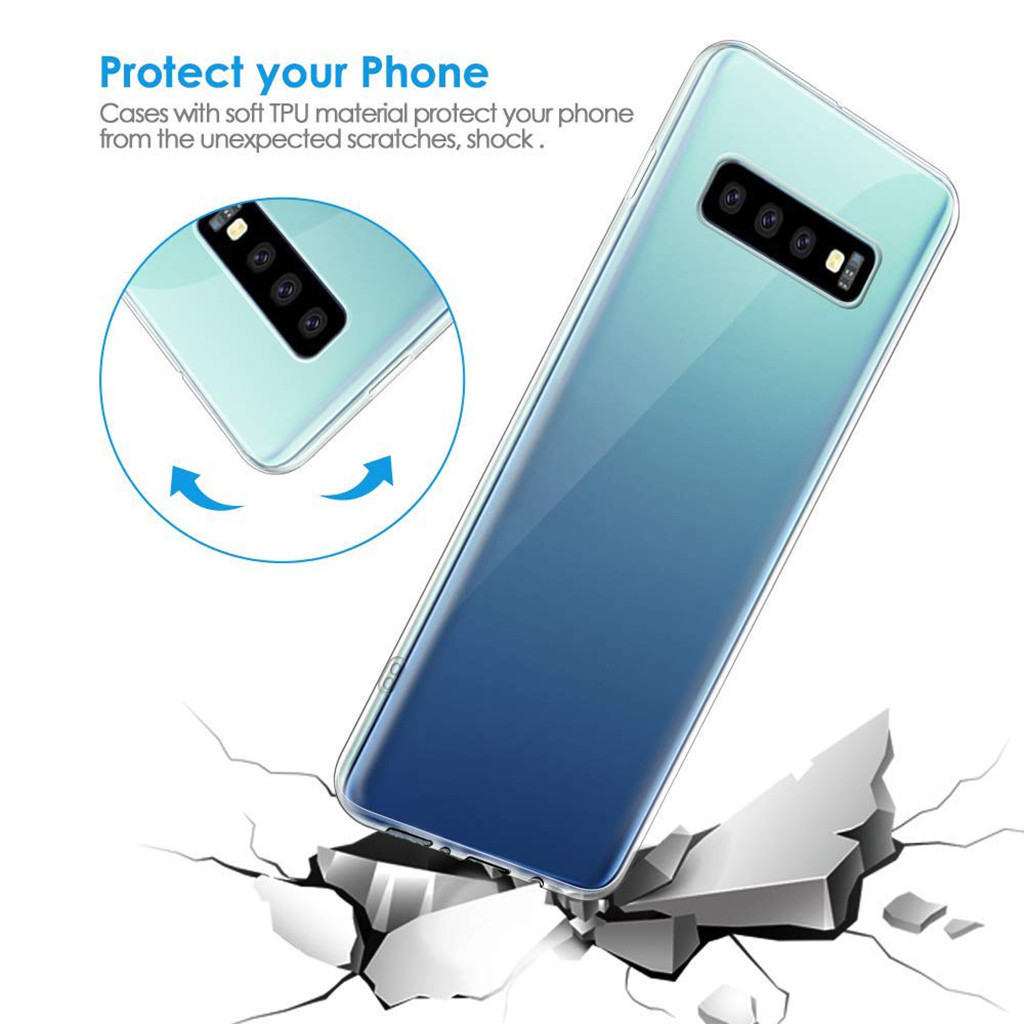 samsung s10 Case for Samsung S10 Plus NILLKIN Nature TPU Transparent soft back cover case for Samsung Galaxy S10+ /S10e z8
