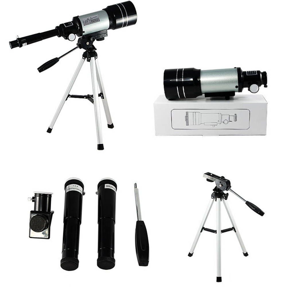 15x-150x High-Powered Magnification HD Telescope Monocular Height Adjustment Tripod Space Astronomical Telescope Spyglass jiehe high quality cf350 60mm monocular space astronomical telescope with tripod powerful zoom monouclar telescope high times