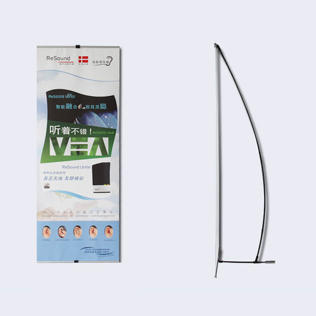 Display Stand For Exhibition : Online shop economic stronger plastic l banner display