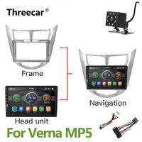 9inch 2 din MP5 radio For Hyundai Verna Solaris Accent 2016 2017 Mirror Link No Android Car Radio Multimedia Video Player 2DIN