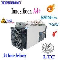 LTC шахтер Innosilicon A4 + LTCMaster 620 м 750 Вт Asic 14nm Scrypt без БП Майнер Litecoin лучше чем Antminer L3 + S9 T9 D9 A5 M3 R1