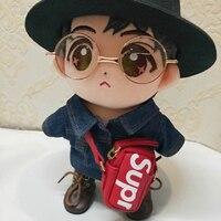 15 20cm got7 20 25 30cm exo 1/6 1/4 bjd doll messenger bag shoulder bag stuffed plush doll usage