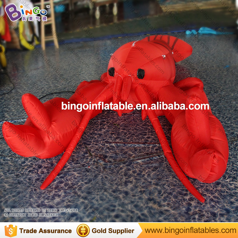 FACTORY OUTLET 3m inflatable big lobster model balloon toy customized for ocean theme park or playground decoratiingFACTORY OUTLET 3m inflatable big lobster model balloon toy customized for ocean theme park or playground decoratiing