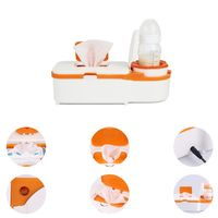 2 in 1 Baby Feeding Bottles Warmers Infant Wipes Heater Case Toddler Nursing Low Energy Baby Insulation Moisturizer Supply