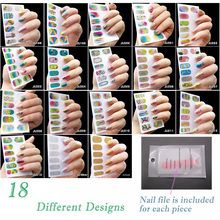 Beauty Nail Stickers Polish Gel