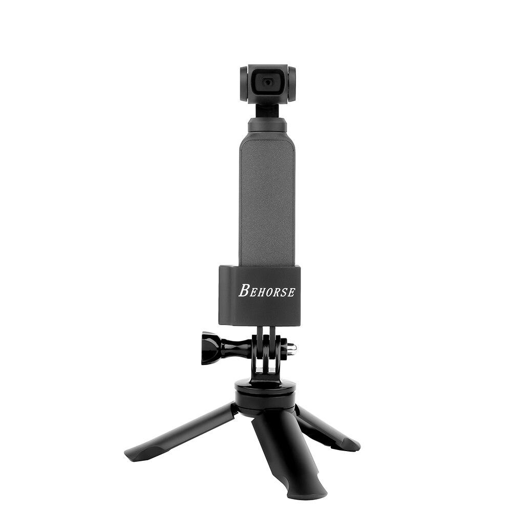 OSMO Pocket Metal Base Adapter Mount Accessories for DJI OSMO Pocket Tripod Selfie Stick Holder Action Camera Car Mounting pocket tripod pro