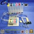 Массовая Система Чернил для Epson T50 T0821N СНПЧ с Чипом Сброса + 500 МЛ Пигментные Чернила/Цвет