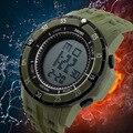 2017 skmei marca de fábrica superior de lujo deportivo digital relojes hombres relojes de pulsera de cuarzo resistente al agua de los muchachos reloj led relojes masculino del relogio