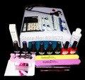UC--128 nail Art Маникюр Инструменты 36 Вт УФ Лампа + 6 цвет 10 мл soak off Gel лак для ногтей Удаления Практика комплект