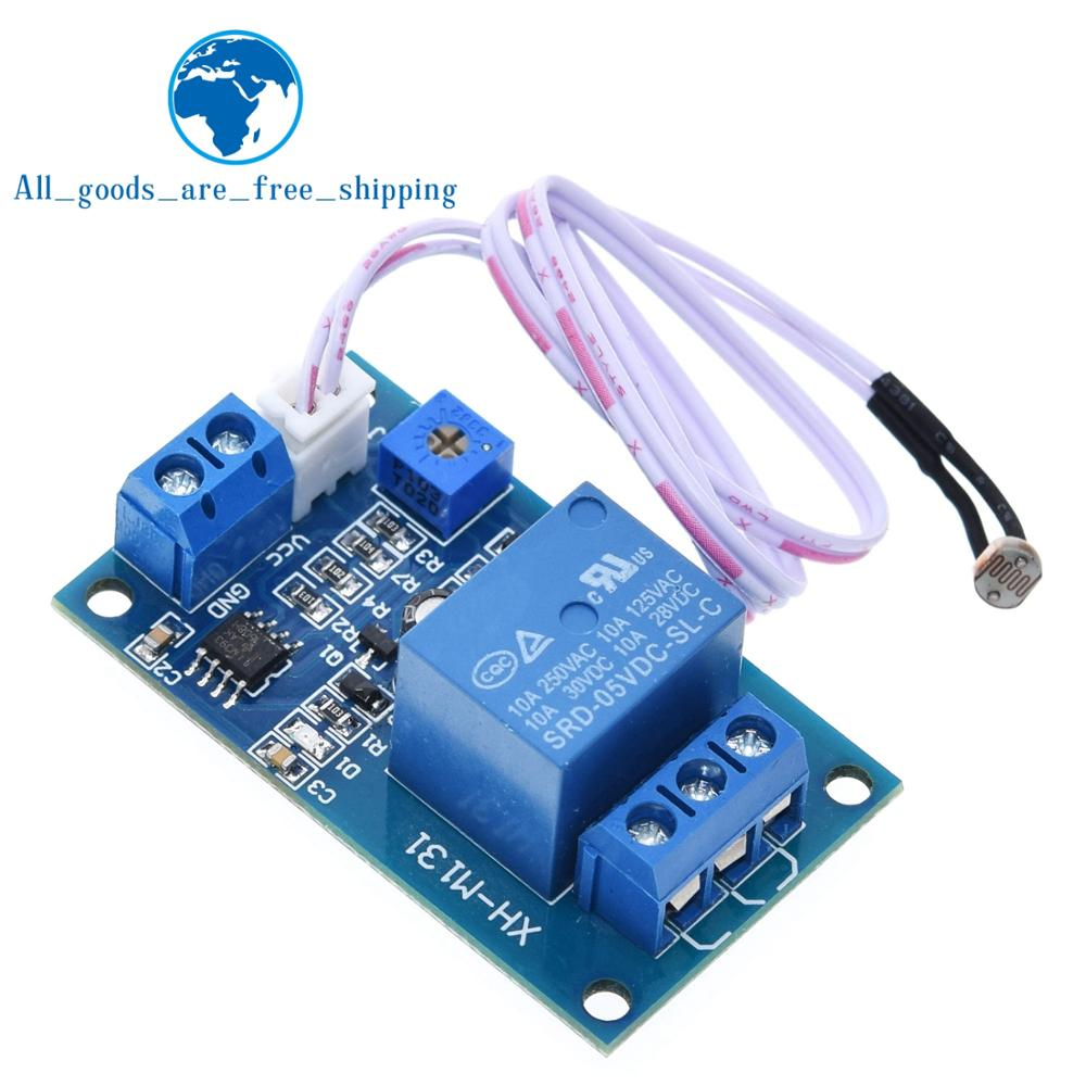 12V Light Control Switch Photoresistor Relay Module Detection Sensor XH-M131 New