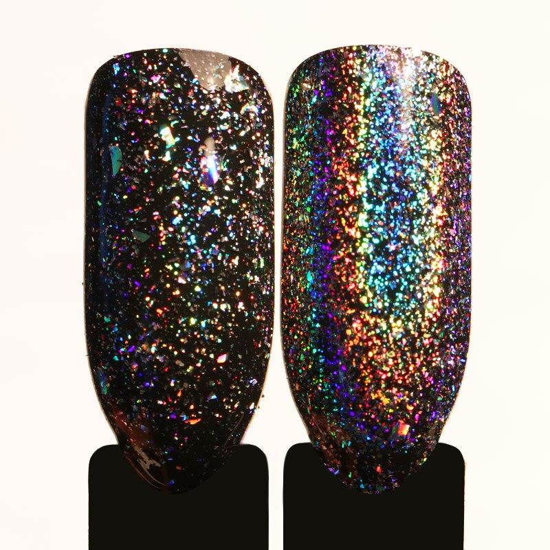 0.2g Galaxy Holo Flakes escamas holográficas manchas de uñas Bling - Arte de uñas - foto 5