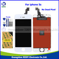 "Grade AAA ++ LCD Screen Assembly for Iphone 5s Diplay with Digitizer Touch Replacements for iphone 5s 4.0"" LCD Top Quality"