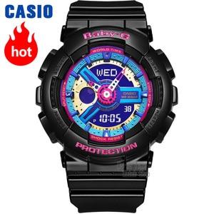 Image 1 - Casio watch g shock women watches top luxury set display ladies watch 100m Waterproof LED digital Quartz watch women reloj mujer