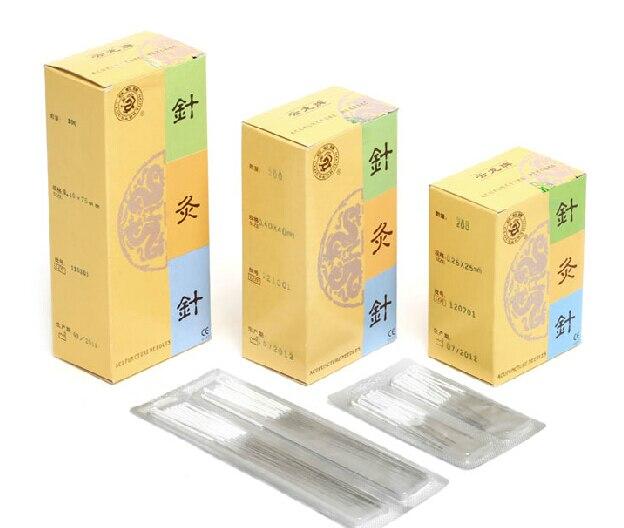 yunlong non-Disposable silver handle 200 pcs/box reusable acupuncture needle 100 pcs eacu high quality disposable aucpuncture edge needle with tube aluminum handle knife needle painless massage needle