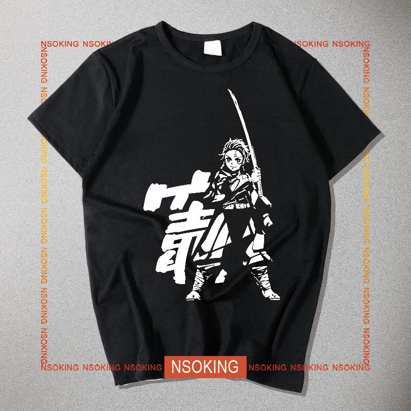 anime Kimetsu no Yaiba t shirt summer Men Kamado Tanjirou cosplay t shirt shorts sleeve tops tees-in T-Shirts from Men's Clothing on AliExpress - 11.11_Double 11_Singles' Day 1