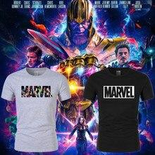 лучшая цена New Marvel T-Shirt Men's Tops T-Shirt High Quality Super Hero Short Sleeve Casual Men's O-neck Comic T-Shirt Women's T-Shirt Men