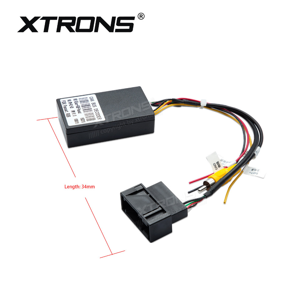 US $26 09 13% OFF|XTRONS CAMDCV01 Reversing Camera Decoder Box for VW  Volkswagen Passat-in Car Diagnostic Cables & Connectors from Automobiles &