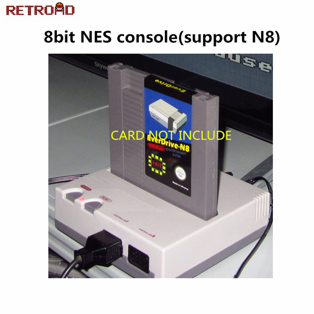NES Retro 8-bit  Entertainment System(Can play N8 EVERDRIVE)