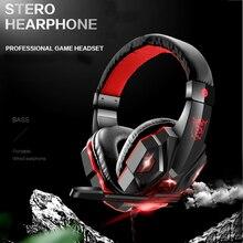 SY830MVหูฟังสำหรับเล่นเกมสำหรับNintendo Switch PSP PS3 PS4 Pro Xbox One Proพร้อมไมโครโฟนชุดหูฟังสเตอริโอสำหรับเล่นเกมระดับมืออาชีพ