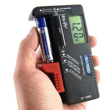 Universal digital Battery Tester checkerbattery capacity meter measure for 9V 1 5V and AA AAA Cell