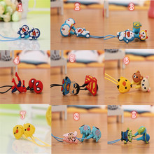 New Cartoon earphone minions Despicable Me superman in-ear headset 3.5mm Avengers jake stereo headphones for iphone5 Samsung E03