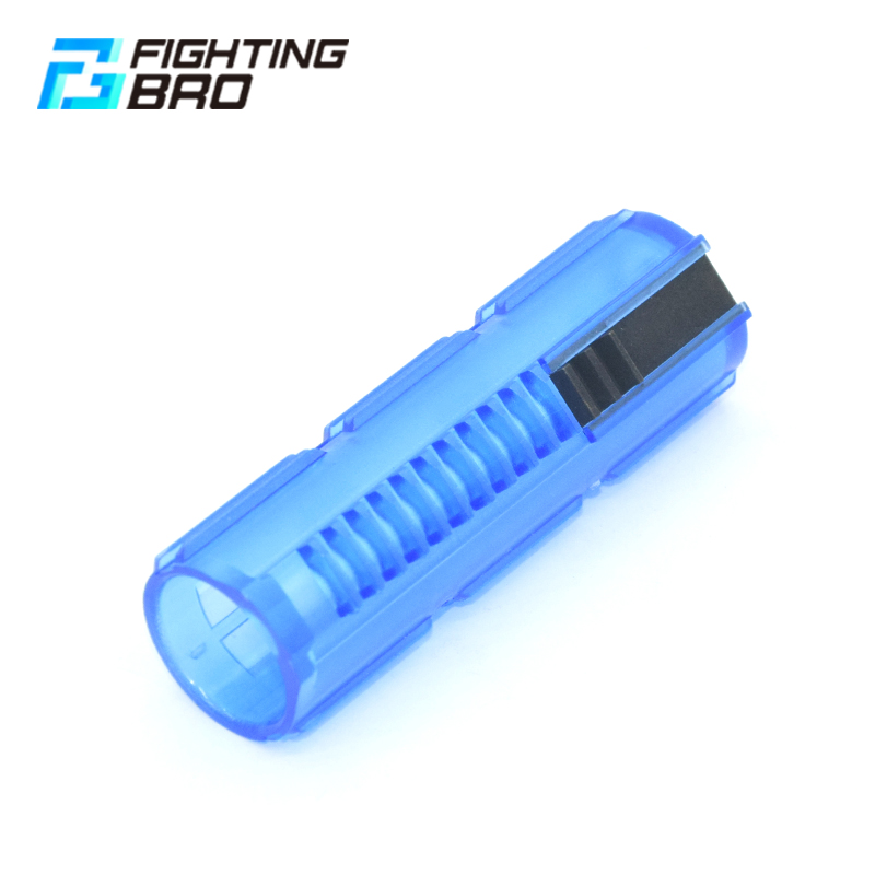 FightingBro Reinforced Carbon Piston Plastic Steel Full Steel Transparent 3 Ladder Tooth For Airsoft AEG AK M4 V2 V3 G36 Gearbox