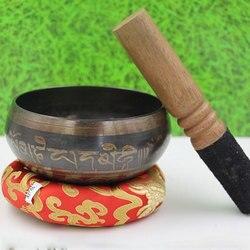 Parede decorativa quente pratos tibetanos cantando tigela cantando tigela decorativa-parede-pratos decoração para casa tigela tibetana