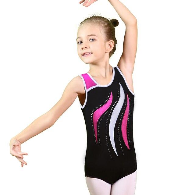 2901869c6687 BAOHULU Toddler Girls Ballet Sleeveless Dance Leotards Dress Ballet ...