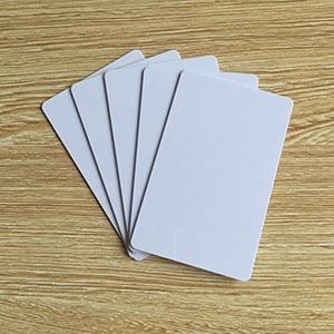 Image 4 - OBO HANDS MF Desfire EV1 2K/4K/8K ריק לבן סובלימציה להדפסה NFC PVC כרטיסי RFID 13.56MHz ISO 14443A סוג