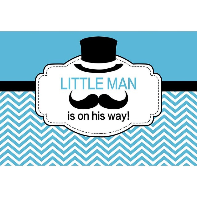 little man happy birthday baby shower photo background photography backdrops quality vinyl