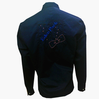 Eden Park Luxury High Quality Embroidery Cotton 2017 New Men Shirt Brand Long Sleeve Solid Color