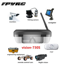 FPVRC Wireless FPV Goggles 3D Video Glasses Vision-730S with 5.8G 40 Channals Receiver for Quadcopter Aerial Photography