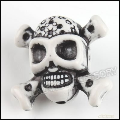 150pcs/lot  Skull Beads Plastic Loose Beads Fashion Jewery Beads 22x25x15mm Fit Bracelet&Necklace Making  110862