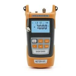 SGV305 Handheld Optical Power Meter-70 ~ + 3dBm e Fonte de 5 MW Laser Vermelho Caneta de Luz, Testador de fibra Frete Grátis