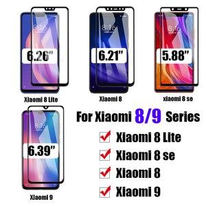 Защитное стекло для xiaomi mi 8 9 lite se Защитная пленка для экрана kisomi cam sheet tremp mi8 Mi9 light закаленное стекло xiaomei