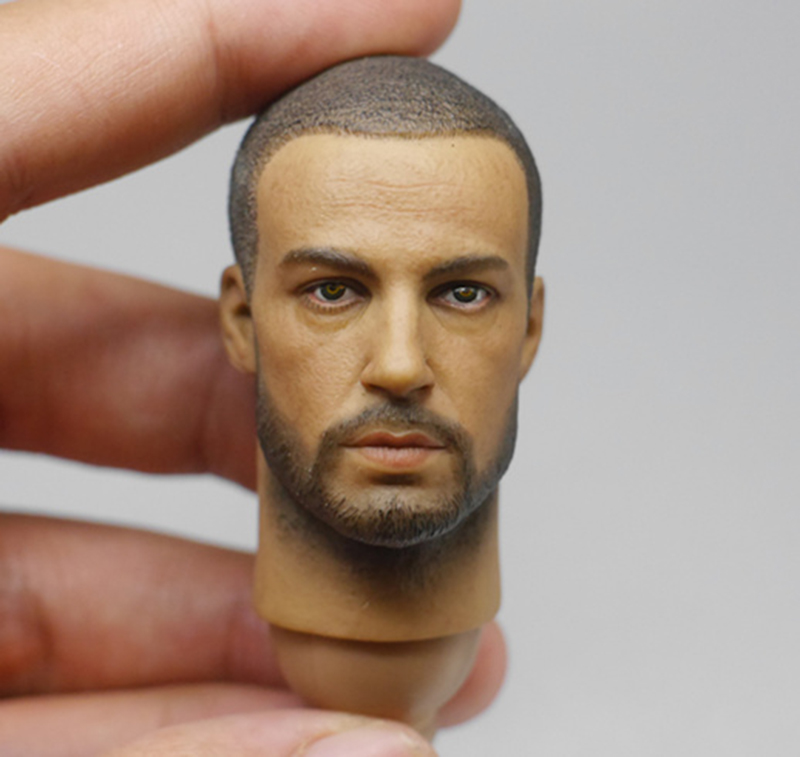 1/6 Scale Medal of Honor Soldier Head Sculpt for 12 Inches Male Bodies Action figures and Dolls