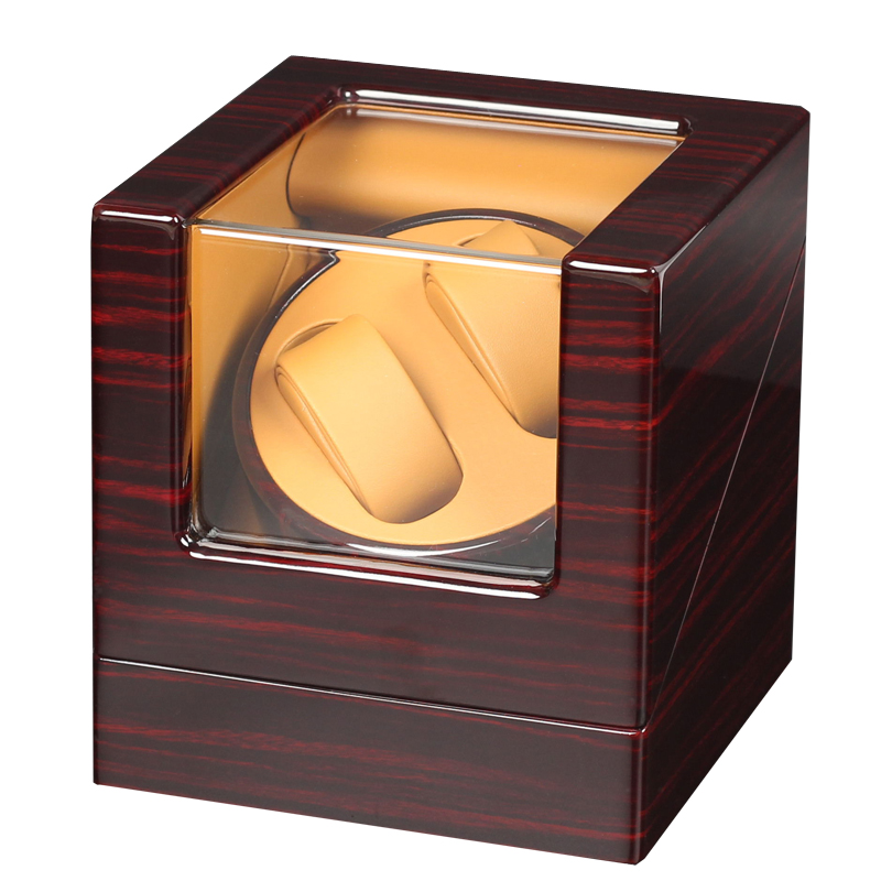 High End 2 + 0 Automatische Motor Shaker Uhr Wickler Halter Display Ultra ruhigen Mabuchi Motor Uhr Wickler für 2 automatische Uhren-in Uhrenbeweger aus Uhren bei  Gruppe 1