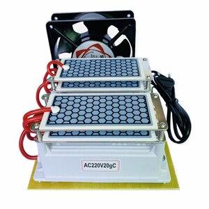 Image 4 - 220V/110V 20g קרמיקה אוזון מחולל אוזון כפול משולב ארוך חיים קרמיקה צלחת Ozonizer אוויר מים אוויר מטהר