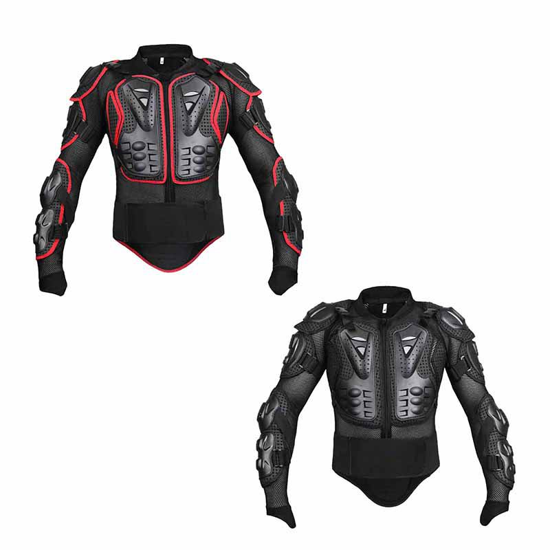 New Motocross Protector Motorcycle Off-Road Full Body Armor Jacket Protective Gear Arm Clothing Drop Spine Chest Protect brand new motorcycle armor protector motocross off road chest body armour protection jacket vest clothing protective gear p14