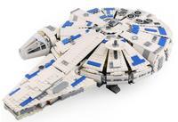 star series war 05142 blocks power awakens millennium 75212 falcon model children toy birthday gift toy