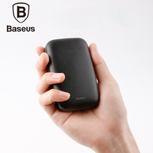 цена на Baseus 10000mAh Portable Power Bank For iPhone Samsung Huawei Xiaomi External Battery Phone Usb Charger Powerbank With Usb Cable