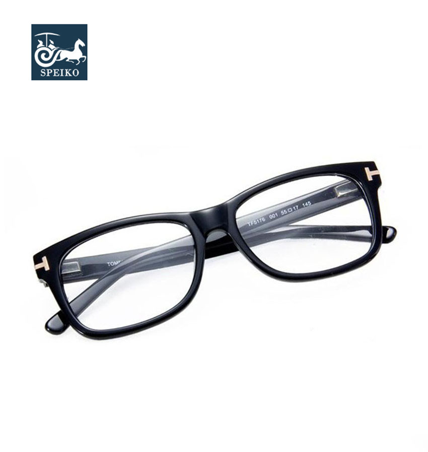 e515b887f3f Speike new fashion acetate glasses 5176 vintage square style frames for men  and women can be