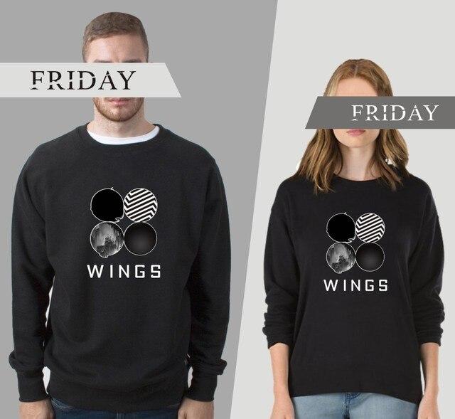 BTS Wings Sweatshirt