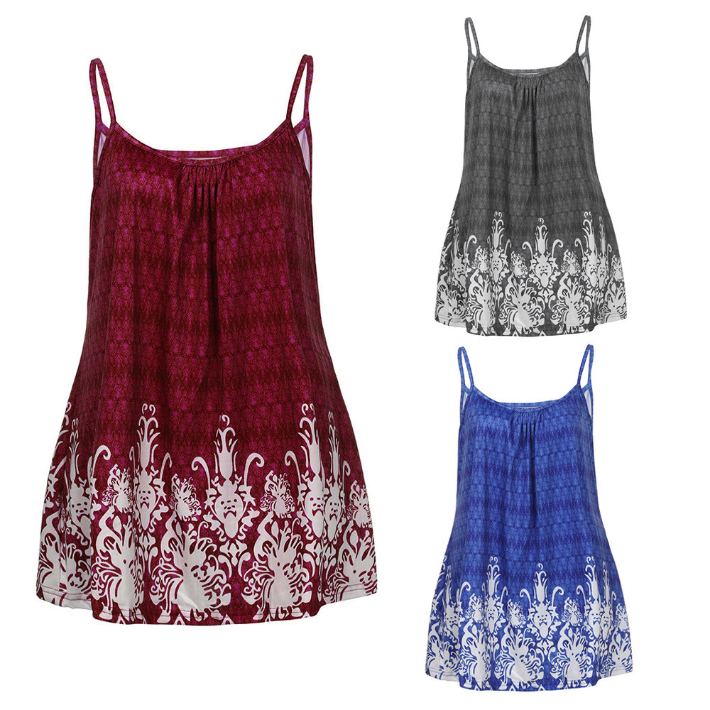 New Women crop top mujer Summer Loose Wrinkled O Neck Collar Tank Tops Sleeveless Polyester Vest in Blue Gray and Wine Red
