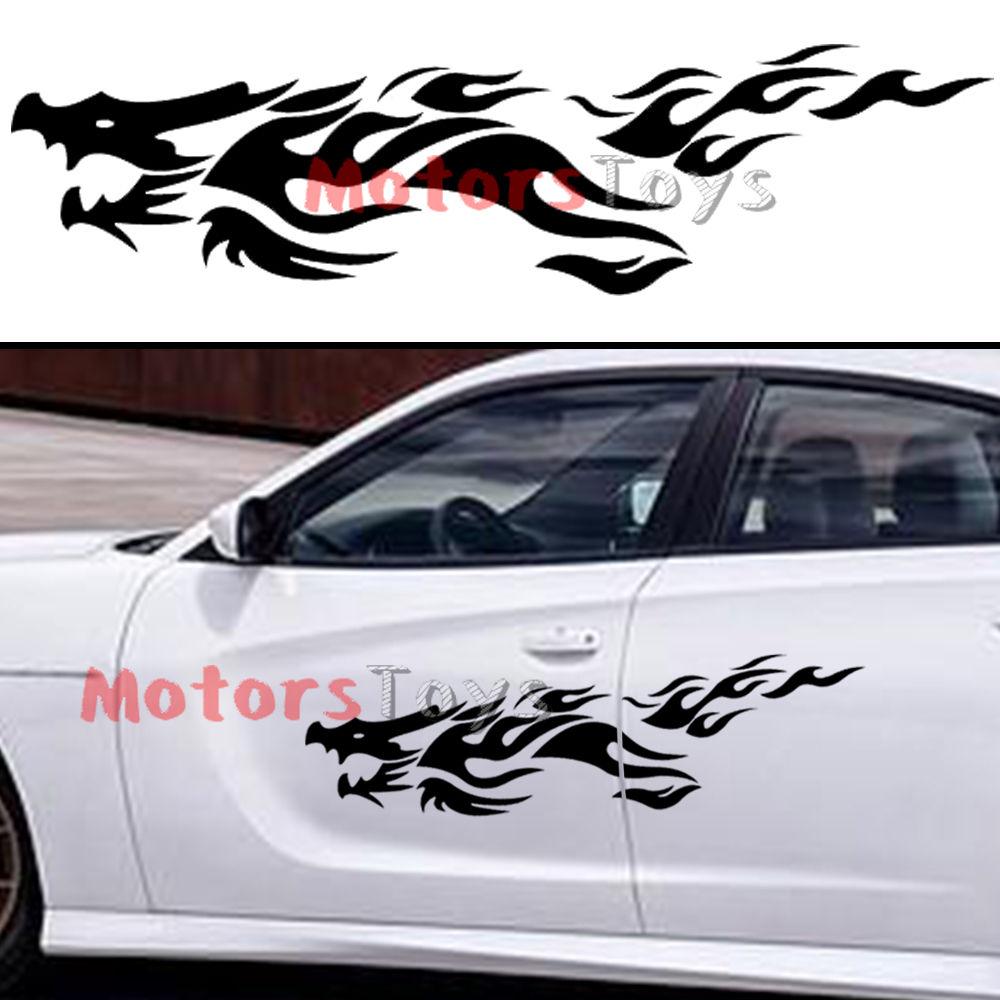 Cool Car Sticker Design - 2pcs jdm awesome dragon hellaflush vinyl car sticker decal l r china mainland