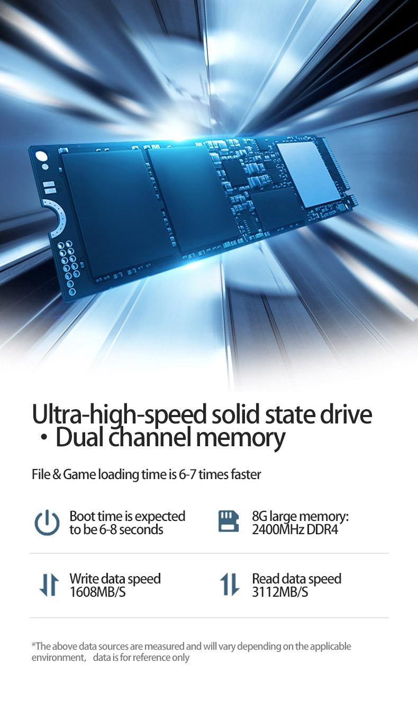 """MaiBenBen Damai 6S для игрового ноутбука i5-8250U+ GTX1050 4G видеокарта/8G ram/256G SSD/Dos/Win10 15,"""" ADS HD экран ноутбука"""